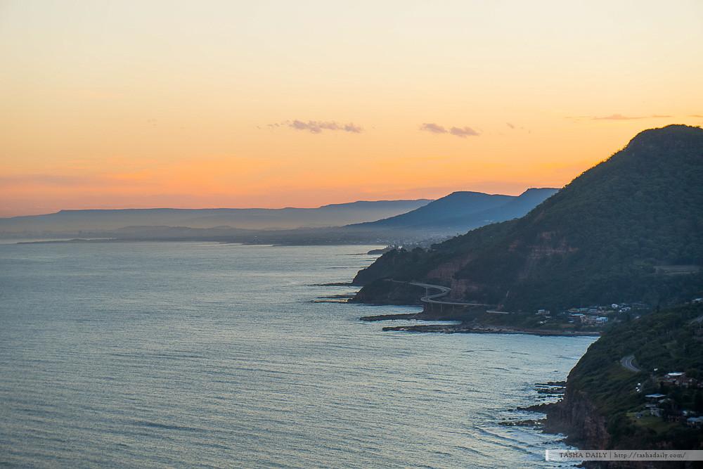 雪梨自由行︱Stanwell Tops.遠眺跨海公路、山海相連的美麗制高點