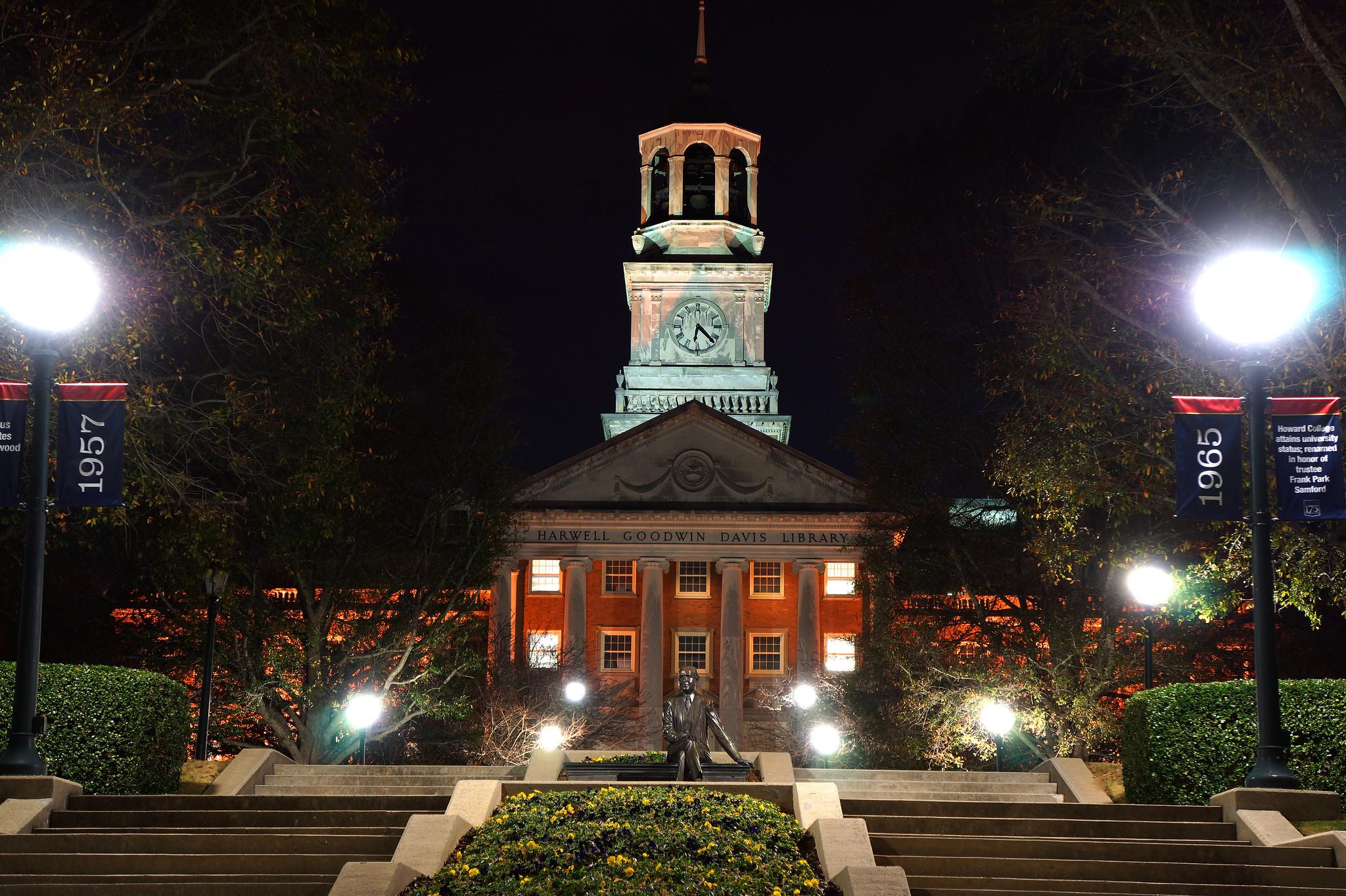 Samford University at Night 3