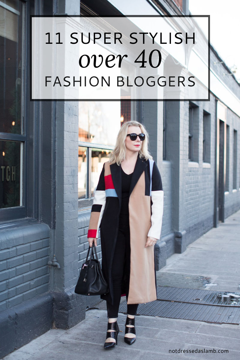 11 More Over 40 Fashion Bloggers With Amazing Style  Not Dressed As Lamb, over 40 style blog