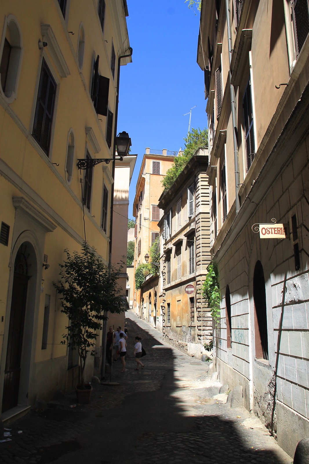 Rome side streets Italy travel blogger UK