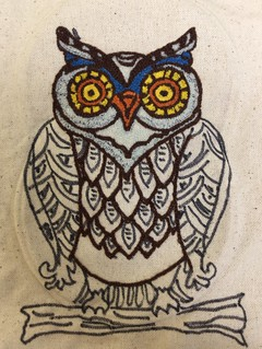 Punch Needle Owl (Back) | by Twill Power