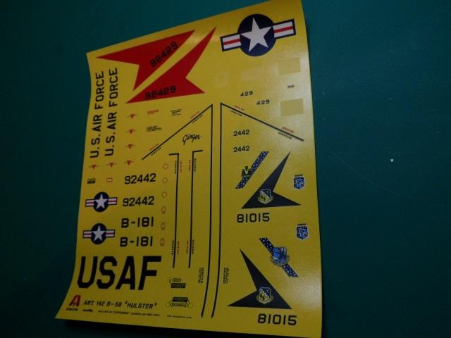 Ouvre-boîte Convair B-58 Hustler [Italeri 1/72] 21550269225_565bda1a97_o
