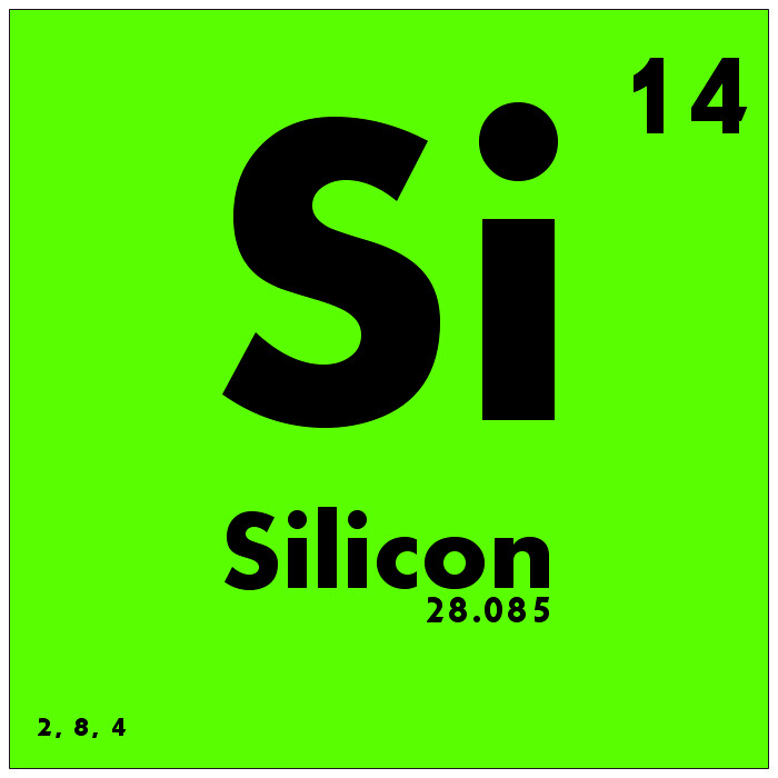014 Silicon - Periodic Table of Elements | Watch Study Guide… | Flickr