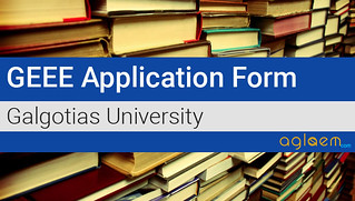 GEEE Application Form 2017 - Dates, Fees, How to Apply