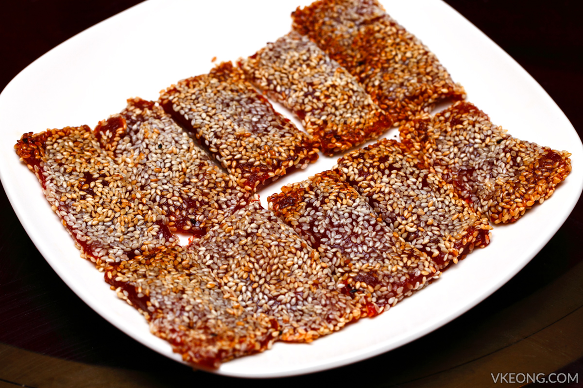 Nian Gao with Sesame Seed