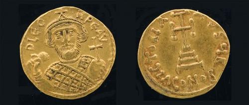 Leontius, 695–698 Just a really good beard