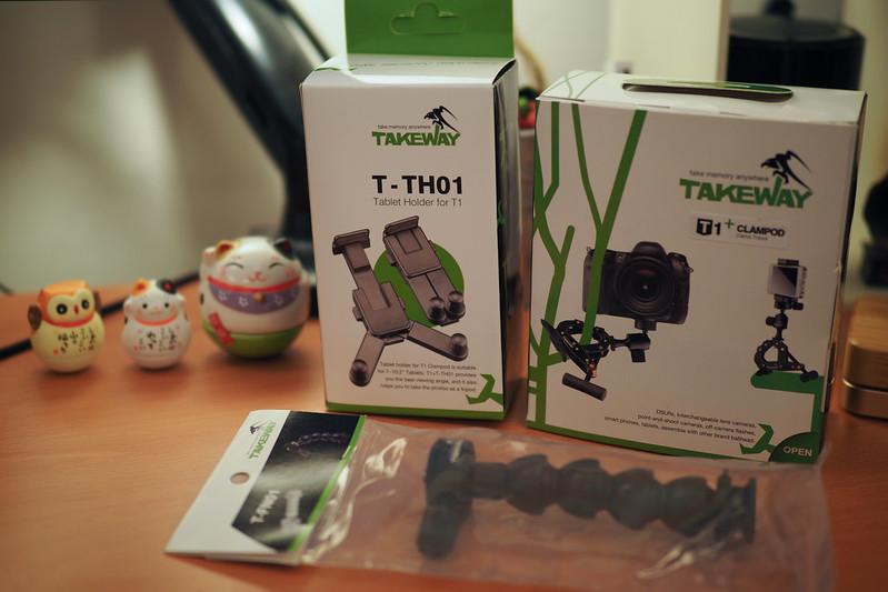 Takeway T1+|Clampod 鉗式腳架