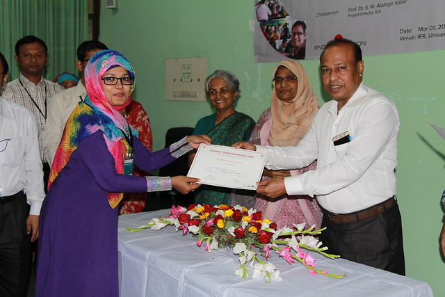 Teachers' Voices Conference - Certificate Giving Ceremony