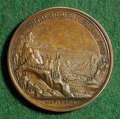 Dassier's Shakespeare Medal reverse