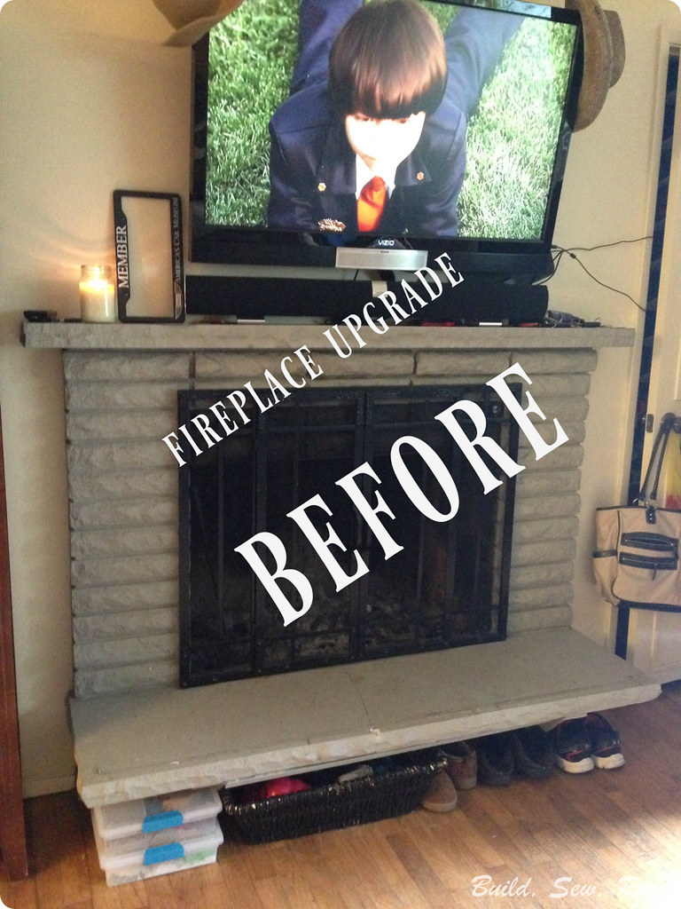 Fireplace Upgrade DIY on a Budget