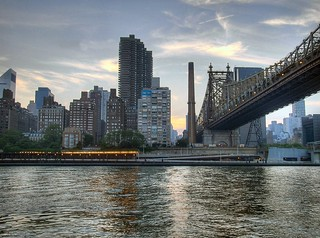 The East River from Roosevelt Island | by David Reeves