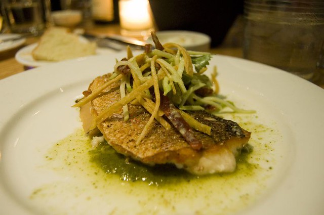 3rd Course: Sauteed Gulf Red Snapper | Sauteed Gulf red snap ...