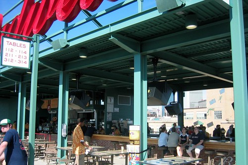 Fenway Park Budweiser Right Field Roof In 2004 The Red