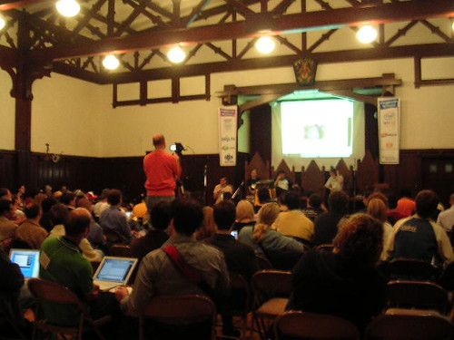 Main ballroom at VloggerCon | by scriptingnews