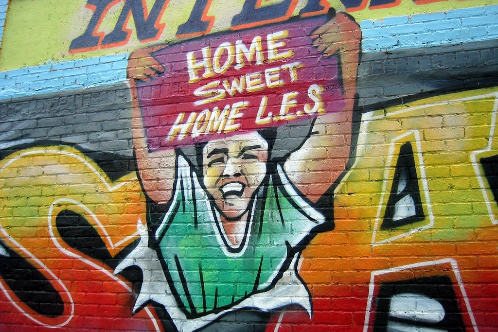 Driving Jobs Nyc >> NYC - East Village: Chico's Loaisada | This mural, on Avenue… | Flickr