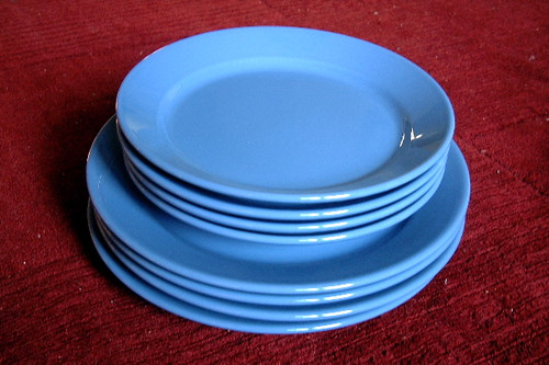 IKEA Dishes Dinner Plates And Salad Plates Set Of 4 Flickr