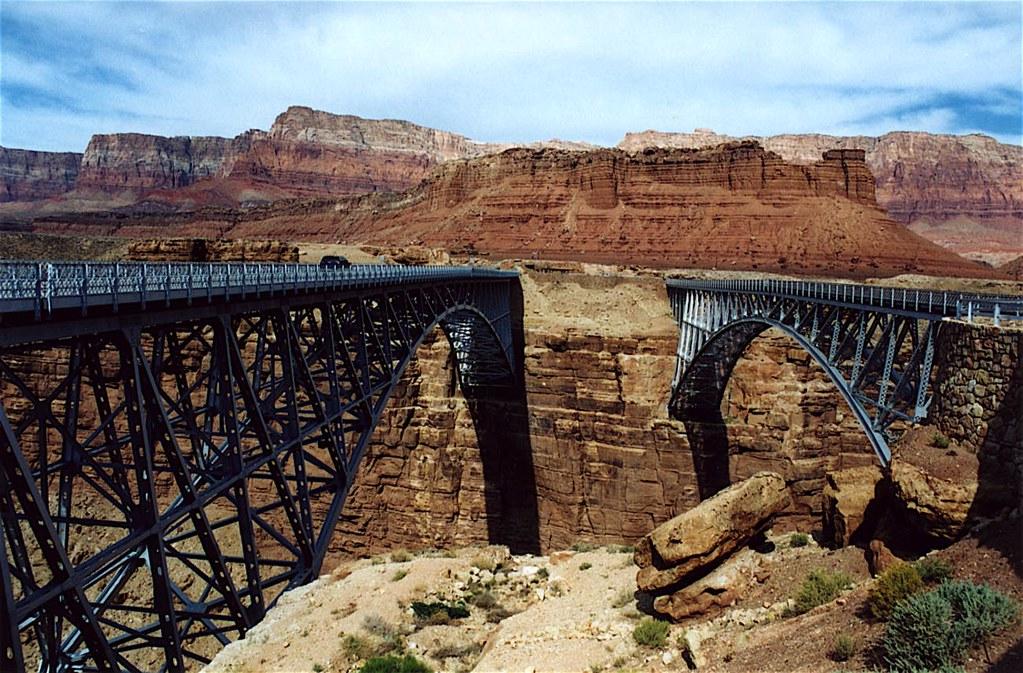 Navajo Bridge Marble Canyon Northern Arizona