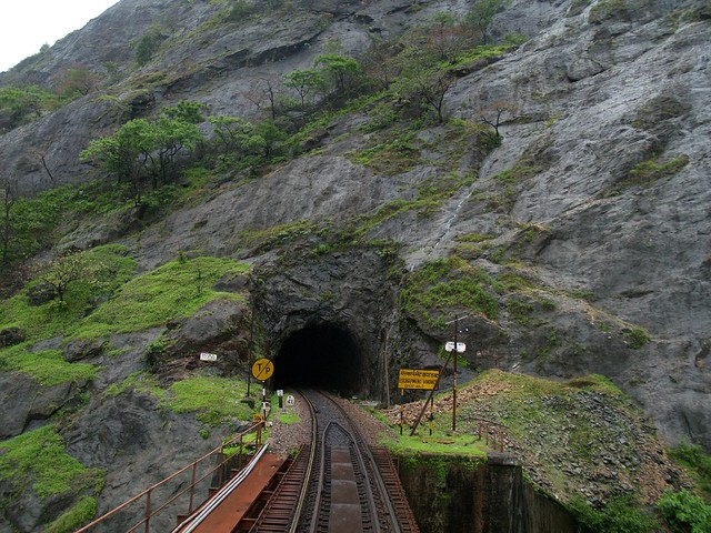 On the way to Dudhsagar from castle rock