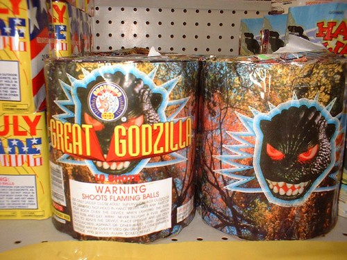 Great Godzilla fireworks | by Kate Sherrill