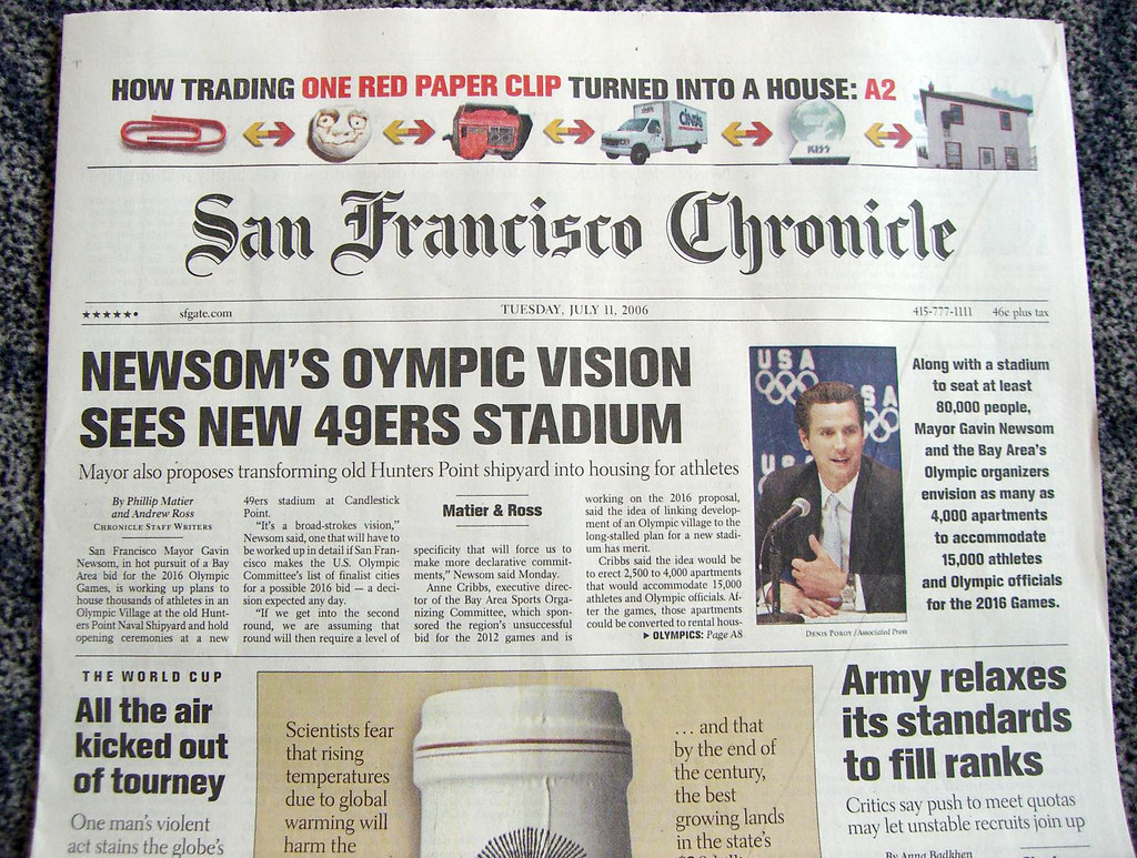 Just How Bad Off is the San Francisco Chronicle? | Just a ...
