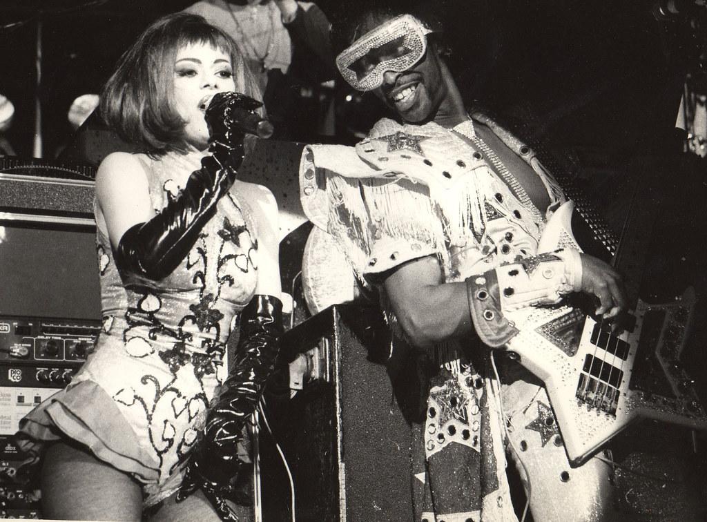 Montreux Jazz Festival >> 1991 Bootsy collins and lady Miss kier /dee-lite @ Montreu…   Flickr