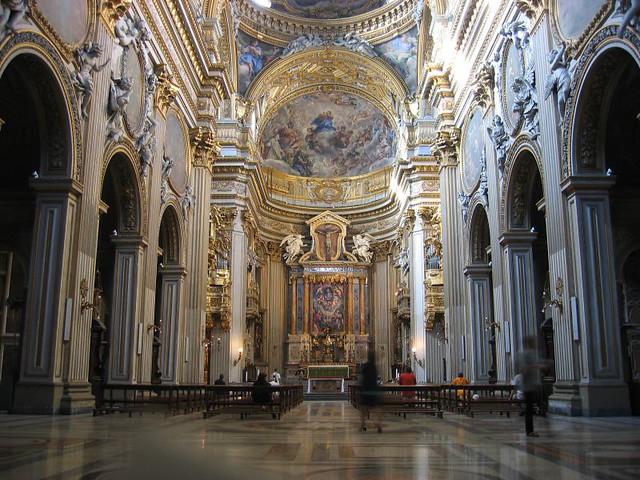 Roma Chiesa Nuova Interior J C Cuesta Flickr