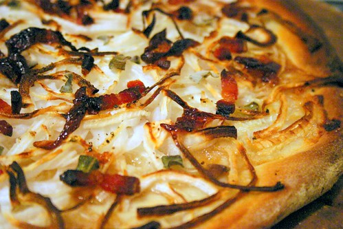onion pizza | by smitten kitchen