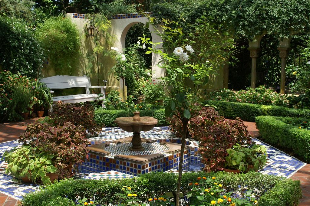Overlook Into Moorish Garden | Tenuous Link Squares That Mau2026 | Flickr