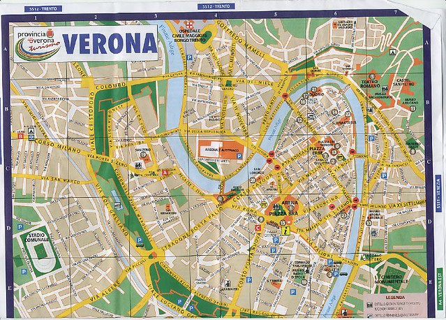 Verona map Caroline and Marc Flickr