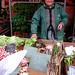 Market stall holder, Dijon, France