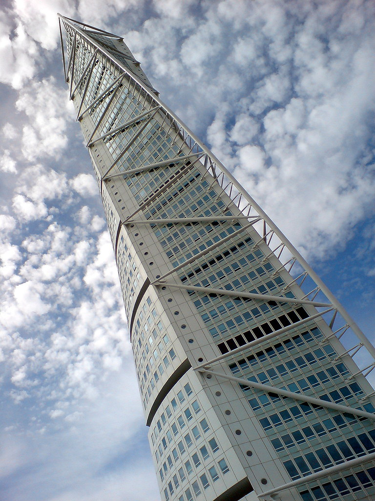 HSB Turning Torso building, Malmo | Building designed by San… | Flickr