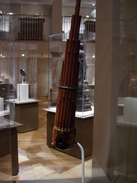 sho wind instrument 19th century wood lacquer bambo flickr