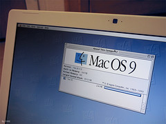 OS 9 on MacBook | by FHKE