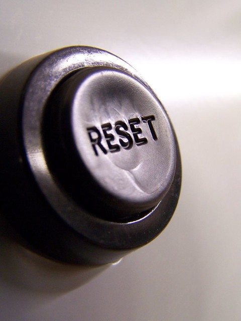 go ahead push it now you can reset anything you want