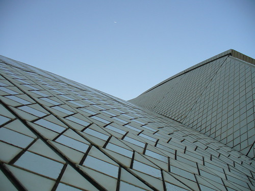 Sydney Opera House the top A