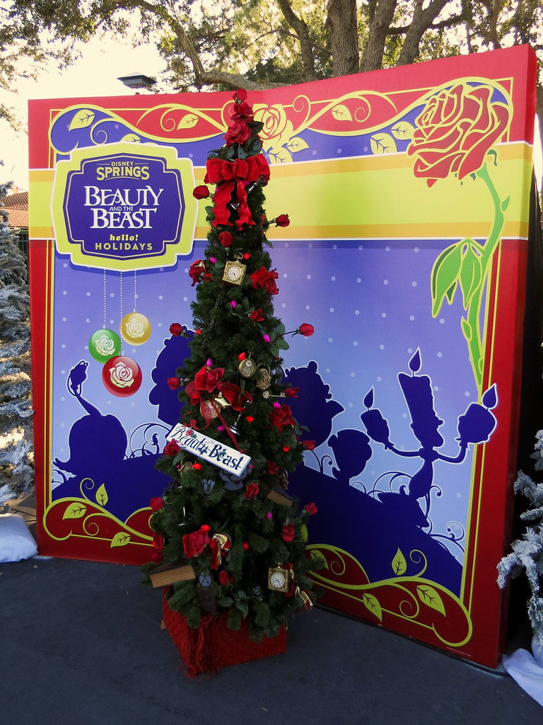 beauty and the beast christmas tree by meeko_ - Disney Beauty And The Beast Christmas Decorations