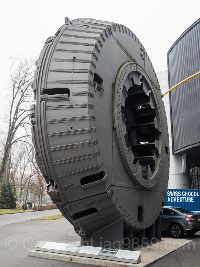 "Rotating Cutterhead, ""Sissi"" Gripper Gotthard Base Tunnel ..."