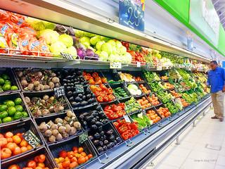 Agrotóxicos en frutas y verduras