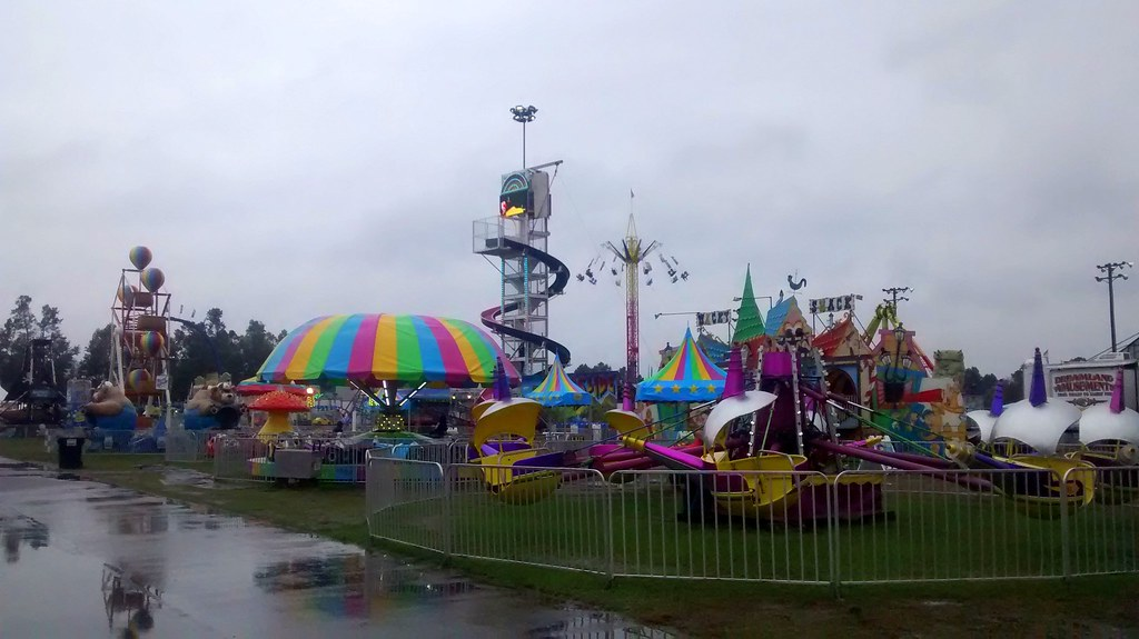Image result for rainy carnival