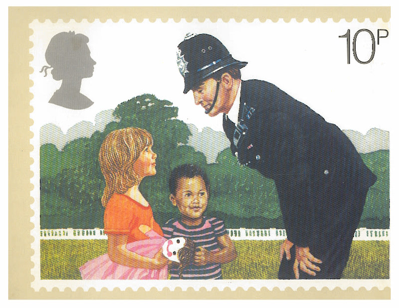 Police - UK - Police Constable - from coffeedoff