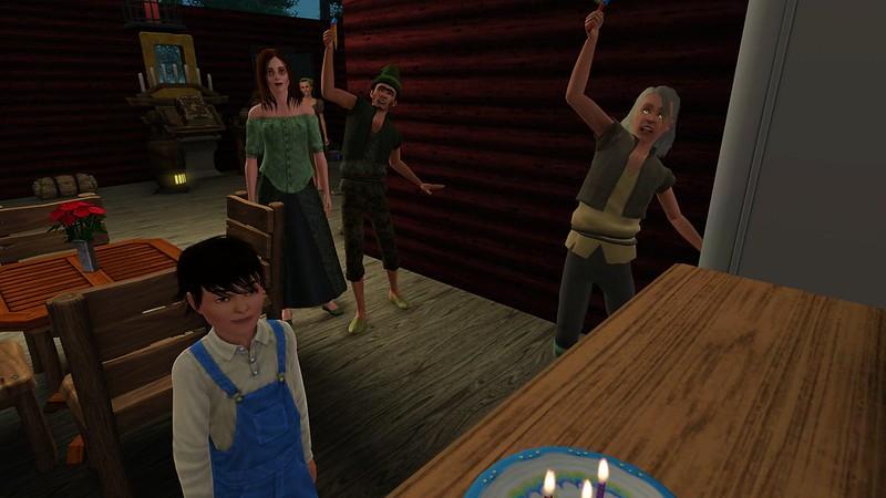 Sims Keep Eating Birthday Cake