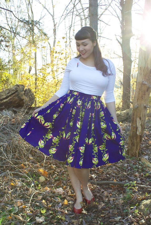 audrey II skirt