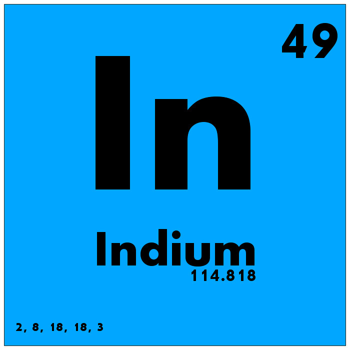 049 indium periodic table of elements watch study guide flickr 049 indium periodic table of elements by science activism urtaz Choice Image