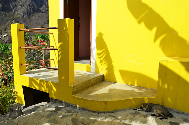 Room at Casa das Ilhas, Ribeira do Paul Valley, Santo Antao, Cape Verde