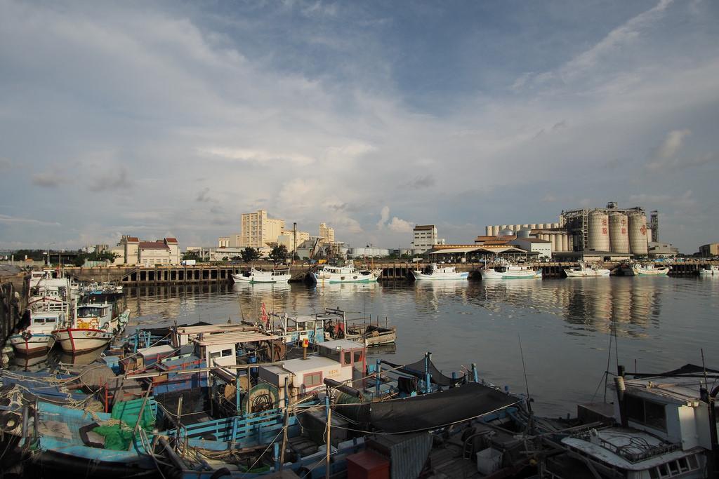 梧棲漁港。圖片來源:小戰車(CC BY-NC-ND 2.0)。