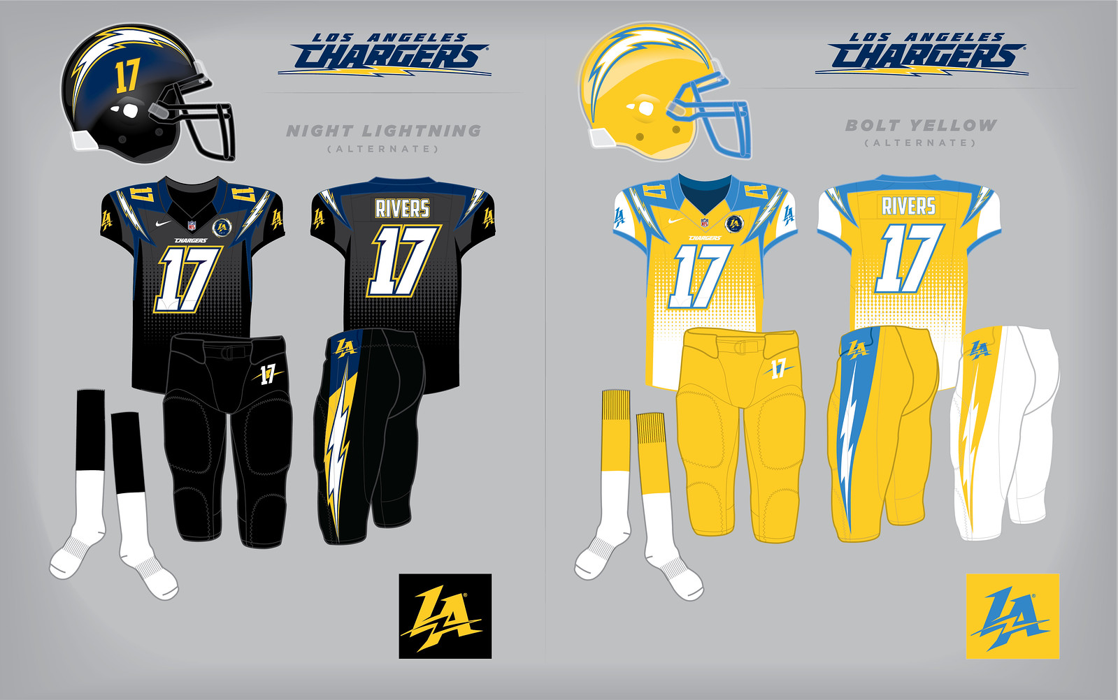 d31c519bf Uni Watch delivers the winning entries in the Chargers redesign contest