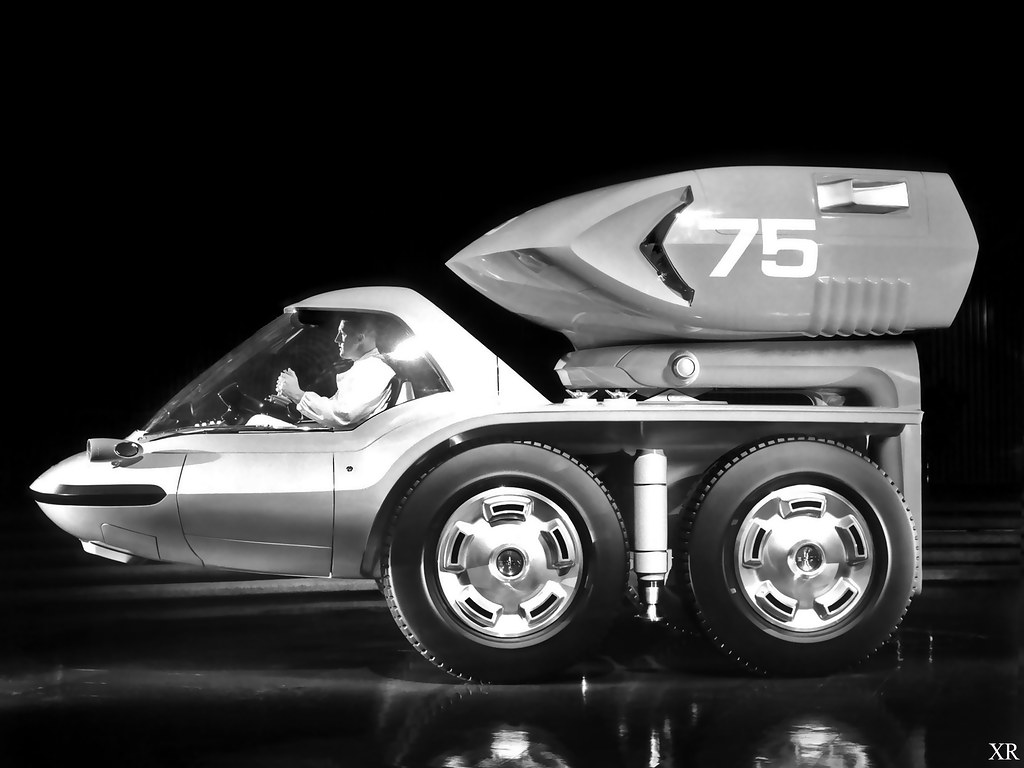 Electric Car Ray Scott Mike Johnston