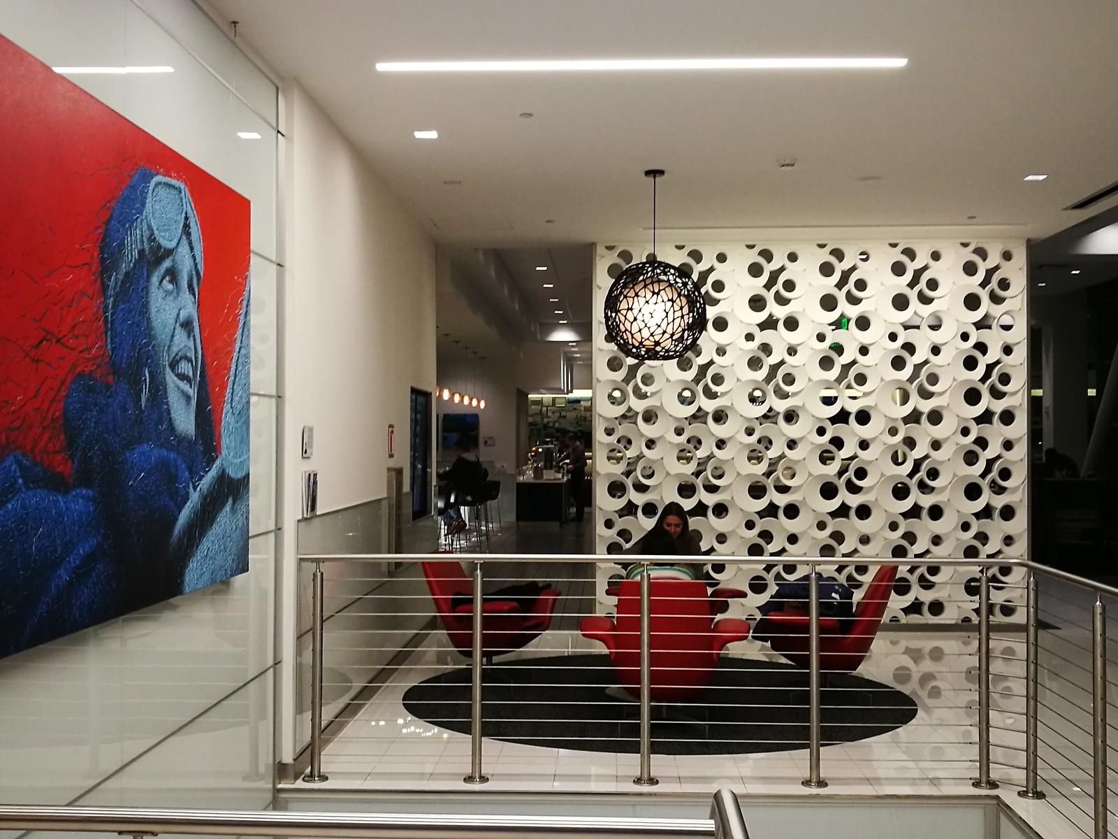 Lounge atrium