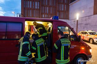 Feuerwehr-Messeinsatz Lilien-Carré 06.03.17