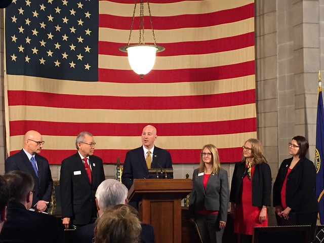 Gov. Ricketts, First Lady Kick Off American Red Cross Centennial